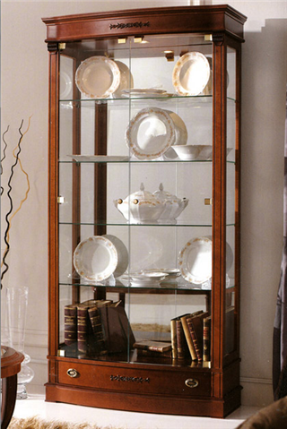Цена на шкаф витрина стеклянная для гостиной дома