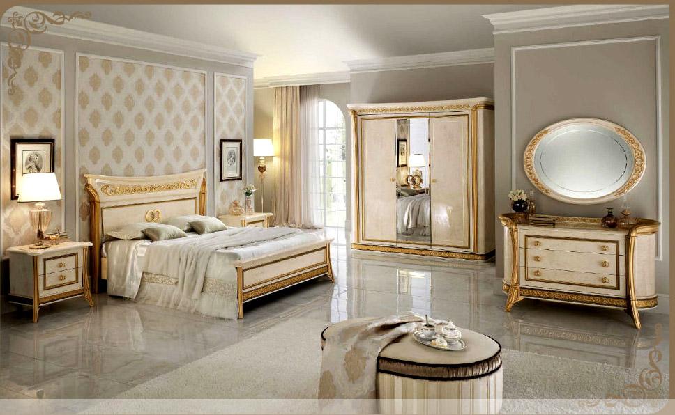Спальни италия фото