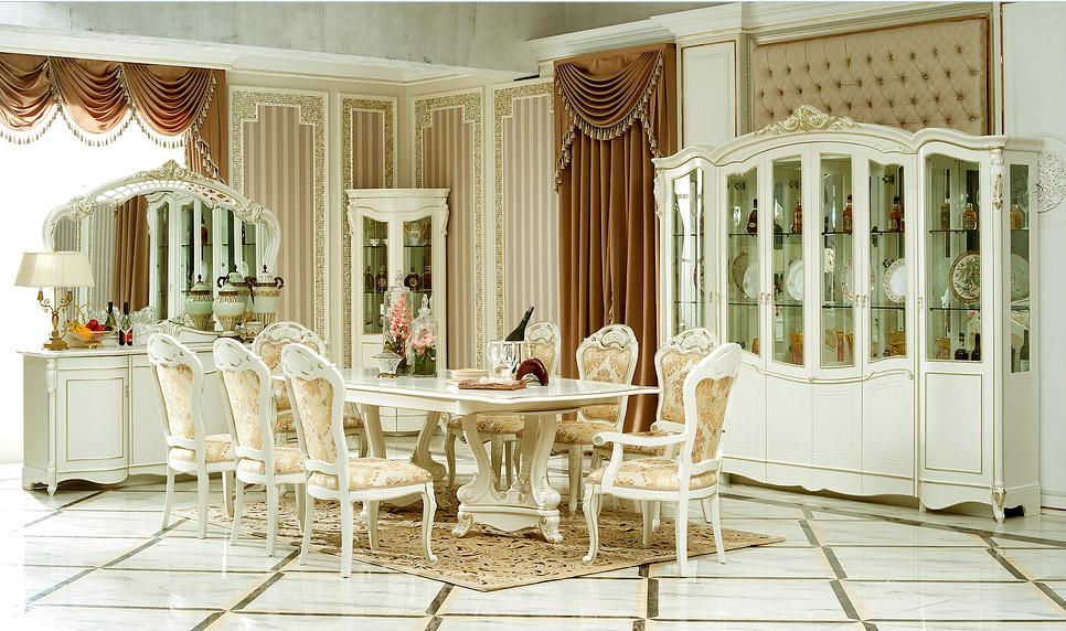 гостиные китая классика палермо белая мебель для гостиной столовой