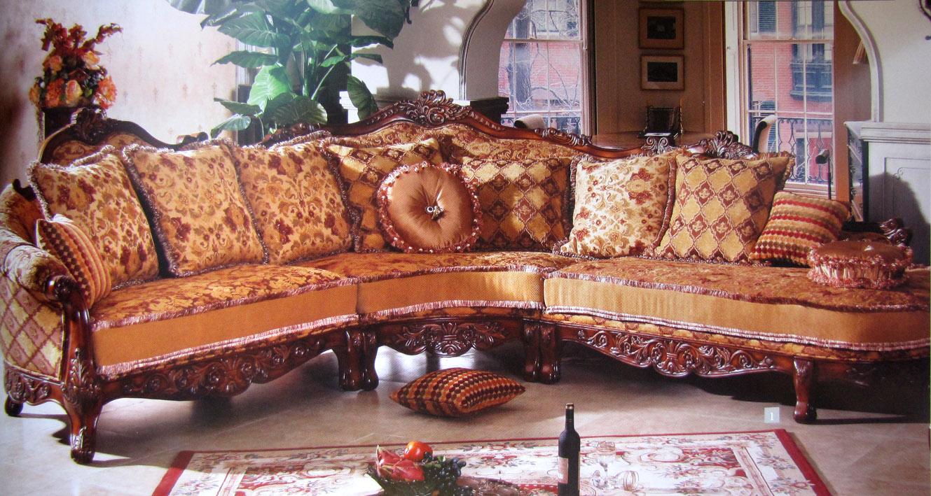Китайская мягкая элитная мебель фото