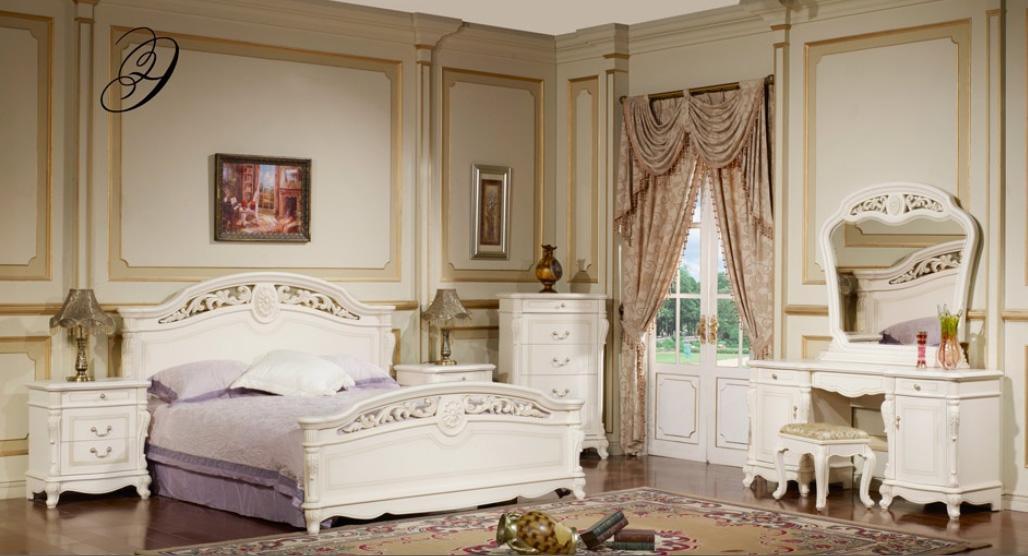 спальня афина белая китай классика купить китайскую спальню со